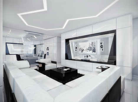 Minimalist Dream House: Black, White U0026 Awesome All Over