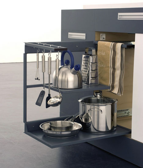 Kitchen Nook For Example Crossword: All-Purpose Kitchen Island Inside A 1-Square-Meter Cube