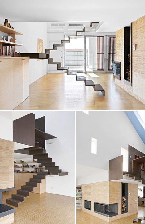 Hover Home 3 Unique Floating Staircases Under One Roof Designs Ideas On Dornob