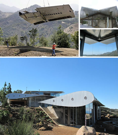 Recycled 747 Wing House Has Finally Landed In The Desert
