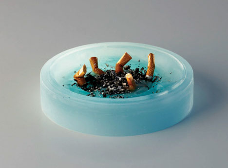 Ash Tray Candle Smoking Alternative To Traditional Ashing
