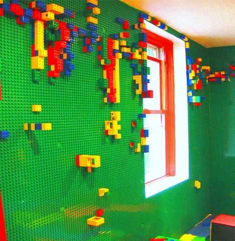lego playroom walls turn surfaces into toys   designs