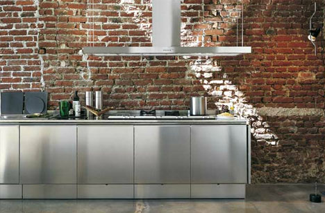 Stainless Steel Kitchen: Sinks to Shelves, Cabinets & More