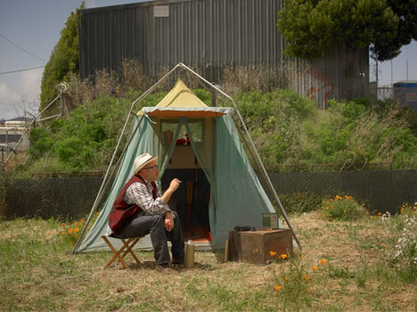 u201cA vintage tent ... & Solo Shelter Showcase: New Small-Space Living Exhibition