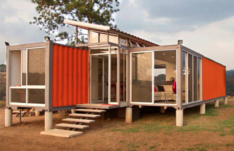 Modern Container Home containers of hope: cheap modern cargo container home