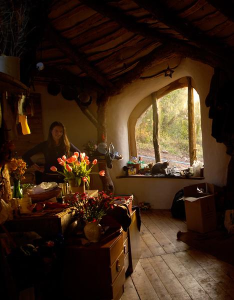 Straw Sticks Secrets A Hand Built Earthen Hobbit Home