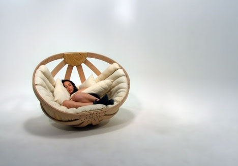 This Basket Seat Is A Cradle For Adults Designs Amp Ideas