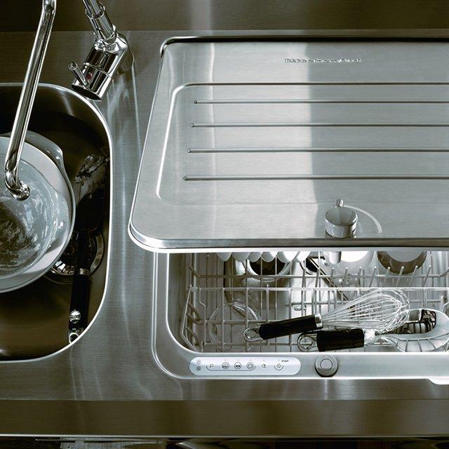 Compact Dishwasher Fits Into Kitchen Sink Designs Ideas On Dornob