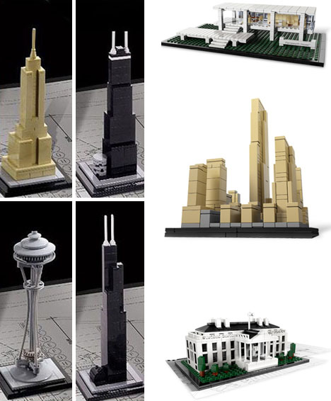 And Finally From The Same LEGO Architecture