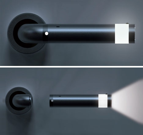 Marvelous Visionary LED Door Handle Doubles As Emergency Flashlight