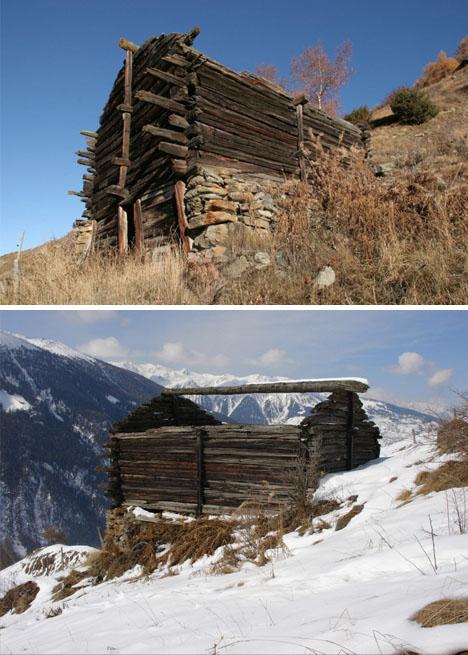 Refab Retreat Cozy Swiss Alps Chalet In A Retrofitted