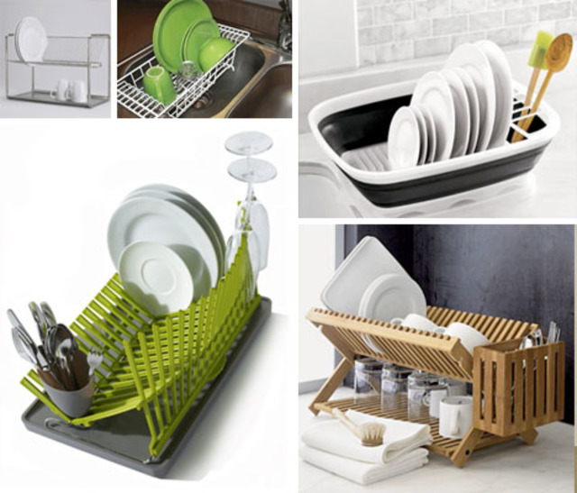 Space Saving Dish Drainer Closet | Designs & Ideas on Dornob