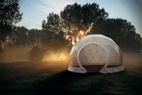 Bon Lightweight Living: Global 4 Season Geodesic Dome Homes