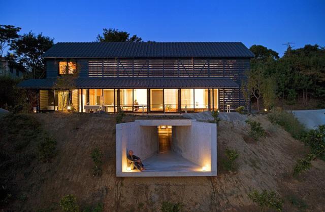 Underground Balcony: Barn Home with a Twist | Designs ...