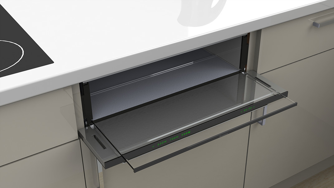 Slide Amp Hide Microwave In A Drawer Designs Amp Ideas On Dornob