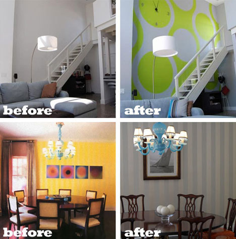 Before After Paint 22 Home Furniture Interior Photos