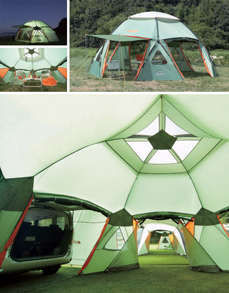 At ... & Tent Tenements: Modular System Connects Multi-Unit Tents