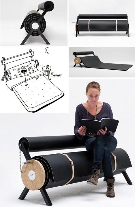 rolling interior bench(doornob.com)