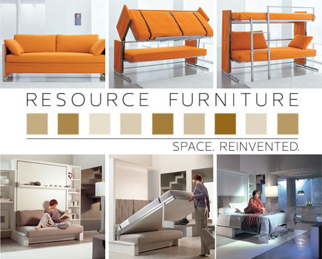 Nice Resource Furniture: 4 Space Saving Transformers [+Video]