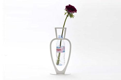 3 Lovely Ways to Upcycle Gl & Plastic Bottles into Vases ... on kitchen vase, chandelier vase, flowers vase, bathroom vase, yarn vase, steampunk vase, mod podge vase, wood vase, wedding vase, tree vase, crochet vase, car vase, printable vase, ribbon vase, homemade vase, chalkboard vase, easter vase, wire vase,