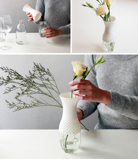 3 Lovely Ways To Upcycle Glass Plastic Bottles Into Vases