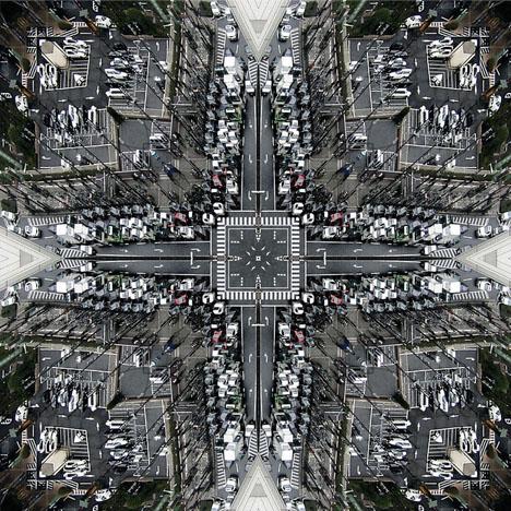 Kaleidoscopic Cities 10 Vortograph Inspired Urban Images