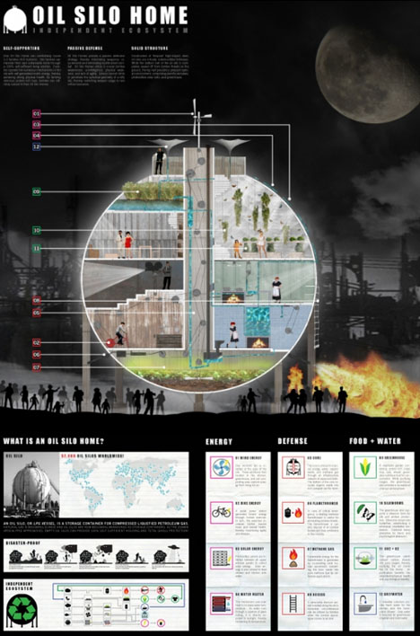 Apocotecture Awards: 10 Zombie-Proof Safe House Designs on zombie shelter plans, hurricane proof home designs, earthquake proof home designs, zombie survival bunker blueprints, vintage home designs, zombie house,