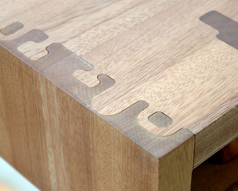 Decorative Puzzle Piece Table Joints Put The Joy In