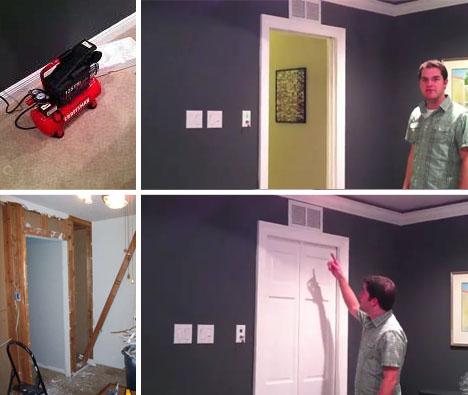 At ... & Air-Powered Star-Trek-Inspired Sliding Door for DIY Geeks Pezcame.Com