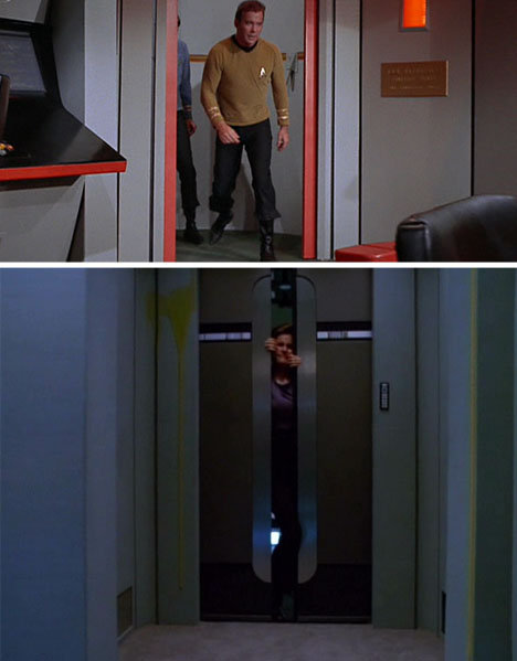 While ... & Air-Powered Star-Trek-Inspired Sliding Door for DIY Geeks