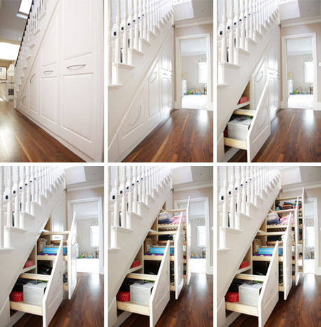 Stair into Space 5 Custom UnderStaircase Storage Systems