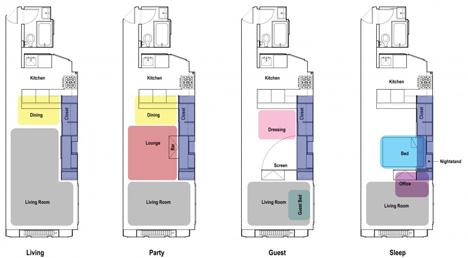 Mini Apartments mini apartment hides maximum customization function