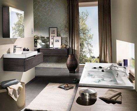 bathrooms. Next Stop: Marvelous Modern Subway-Inspired Bathrooms