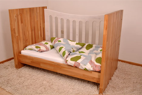 & Crib Couch \u0026 Bed: Convertible Furniture Grows with Kids