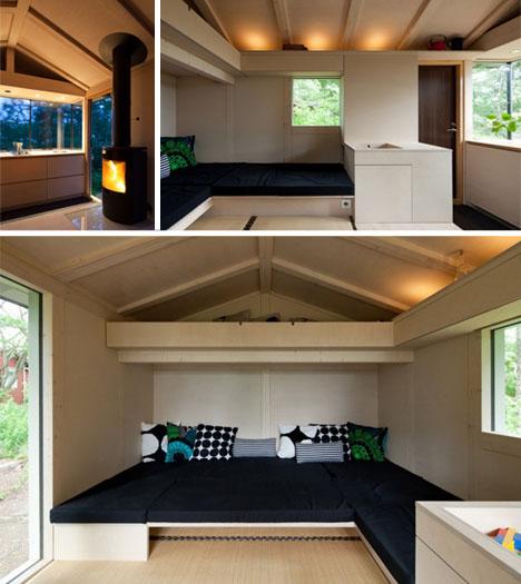 150 Square Feet Modern Modest Amp Cozy Finnish Cottage