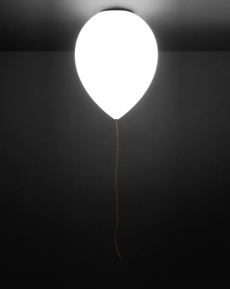 Balloon-Shaped Ceiling & Wall Lights are Playful & Practical