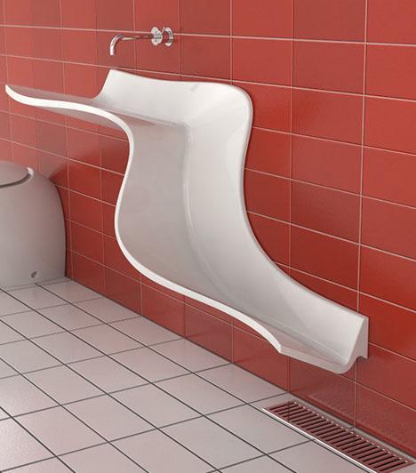 Bathroom Waterfall Wall Sinks Show Off Daily Use U0026 Flow