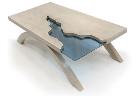 Grand Canyon Table Shows How Art Can Flow Into Design