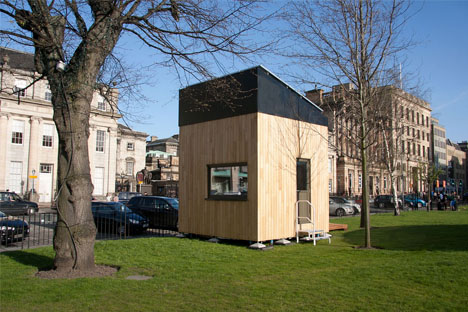 Psychologist-Made Micro-Home Makes Do in 3x3x3 Meters