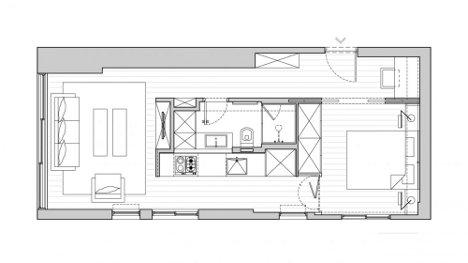 Divide conquer 40 sq meter studio apartment grows up for 40 sqm apartment design
