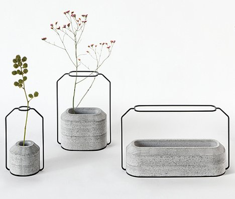Wild Industrial Vases Add Some Modern Flair To Your Table