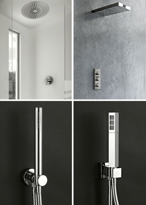 Semi-Shower: Versatile Ceiling-Mounted Bathroom Faucet