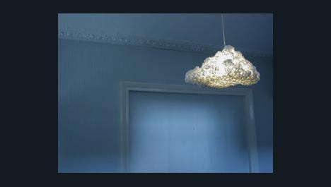 Cumulus Chandelier: Whimsical Cloud Shaped Pendant Lamp