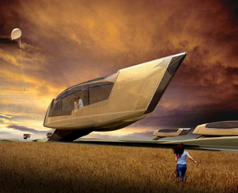 From deep seas to outer space 30 futuristic home designs for Outer space urban design