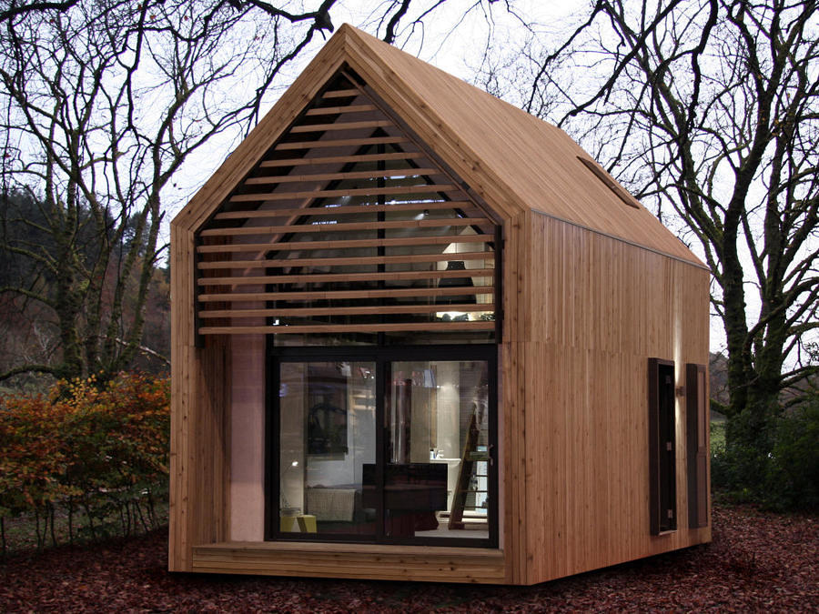 Terrific Dwelle Tiny Prefab A Frame House Designs Ideas On Dornob Download Free Architecture Designs Scobabritishbridgeorg