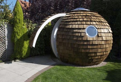 People Pod Whimsical Home Office Puts Work in Your Yard