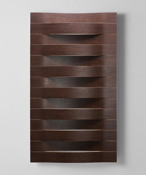 Fresh The wood radiators all share a nature theme calling to mind the simple elegance of a leaf or the mesmerizing calm of ocean waves
