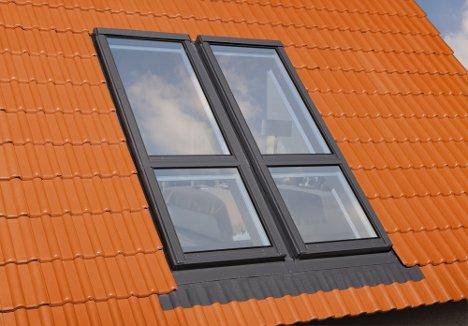 When closed the windows ... & Open Wide! Attic Windows Create Unique Indoor Outdoor Space