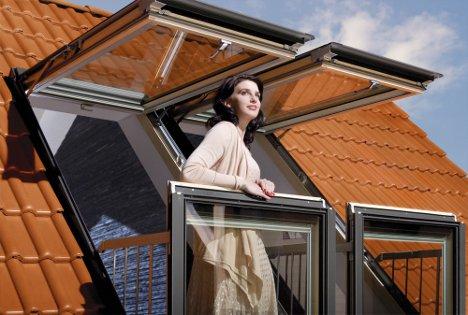Open Wide Attic Windows Create Unique Indoor Outdoor Space Designs Ideas On Dornob