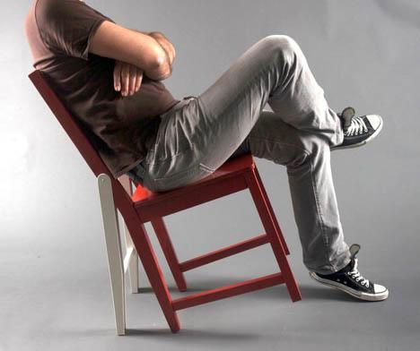 Hacked Ikea Leaning Seat Idea Imitates Life Art Cartoons